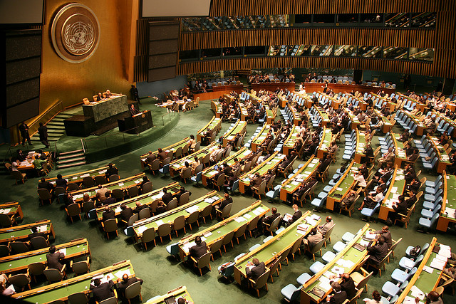 UN General Assembly adopts resolution for Palestinian sovereignty in W. Bank, Gaza, E. Jerusalem