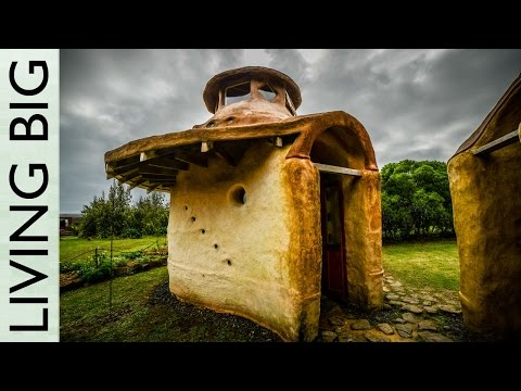 Man Builds Two Earth Dome Cabins For Under $10K
