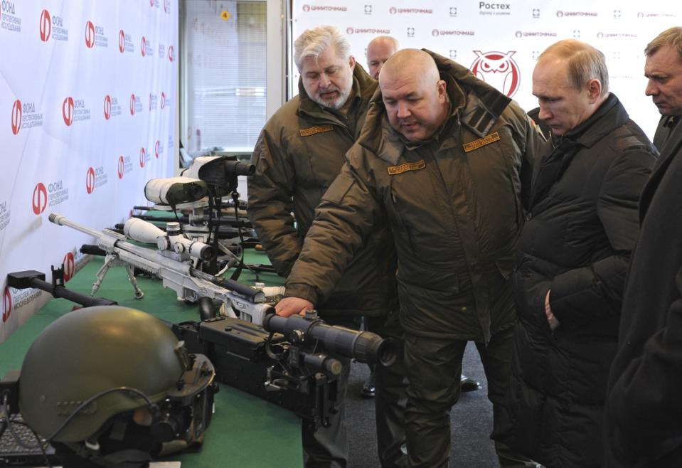 Putin says Russia will build new weapons but avoid arms race