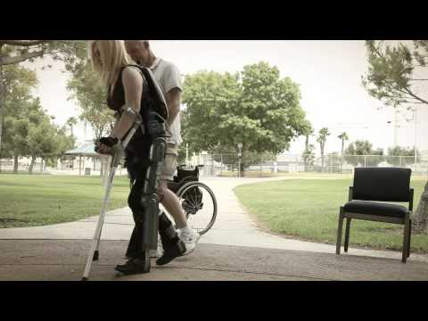 FDA Approved Exoskeleton Allows Paralyzed People to Walk