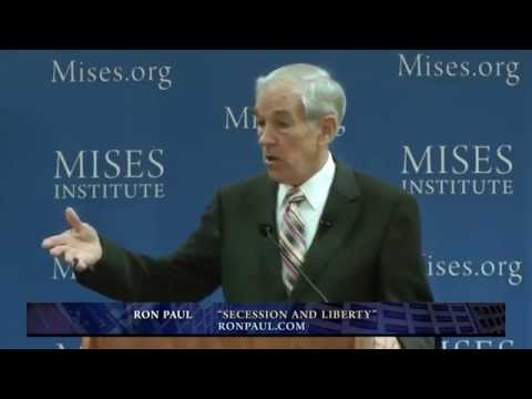 "Ron Paul: ""Good News"" That Secession Is Happening"