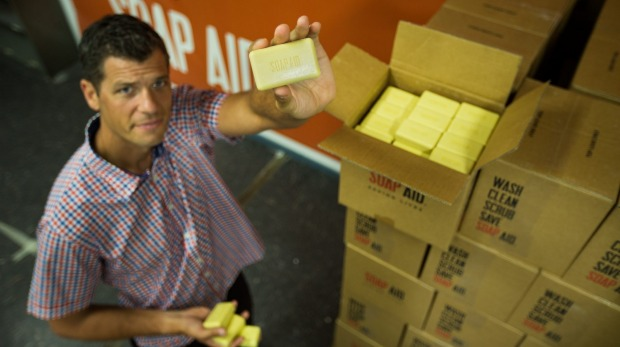 Melbourne's Recycled Soap Is Saving Lives In India