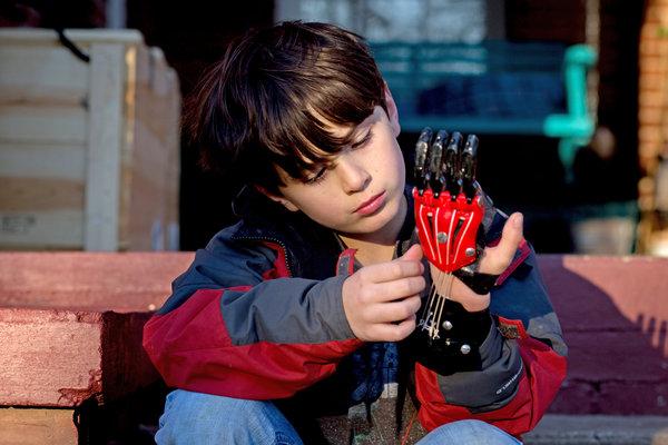 Hand of a Superhero