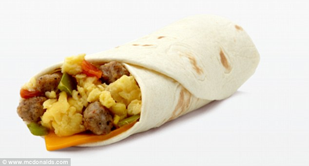 McDonald's Sausage Burrito contains more than 100 ingredients – including one chemical used in FIREWORKS