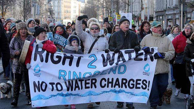 Coming Revolution? Irish hold nationwide protests against water charges