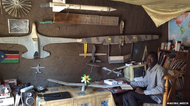 Sudanese Man Builds Airplane In Backyard, Receives Job In Air-force