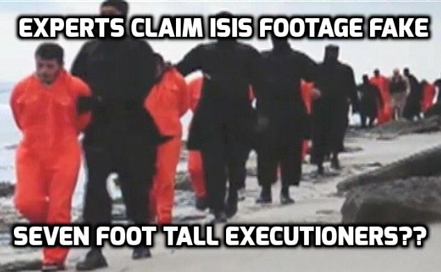Experts Claim ISIS Execution Footage FAKE
