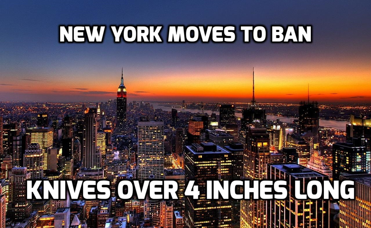 New York Moves To Ban Knives Longer Than 4 Inches