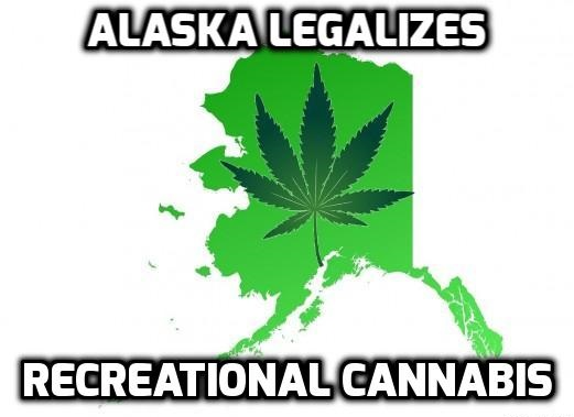 Alaska allows recreational marijuana as legalization campaign spreads