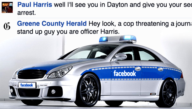 Cop Threatens To Arrest Journalist For Arguing With Him On Facebook