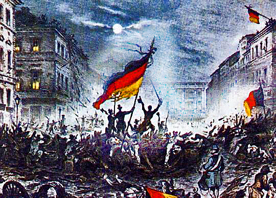 20% of Germans Advocate Revolution