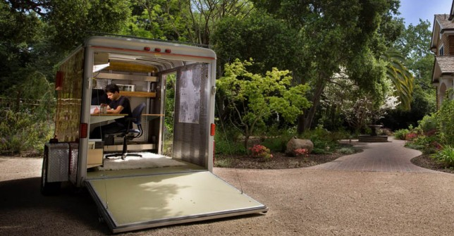3 Amazing Pop-Up Offices