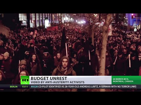 Canada fury: Week of austerity protests brings tens of thousands onto Quebec streets