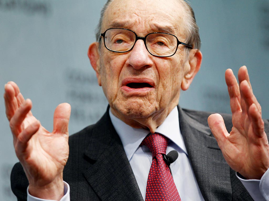 "Alan Greenspan – Gold to Rise Measurably… Fed Can't Exit without Causing a ""Significant Event"""