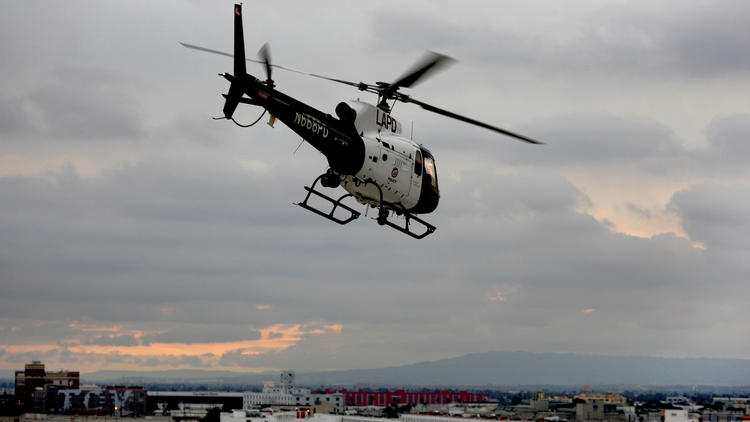 LAPD Using Helicopters For Pre-Crime