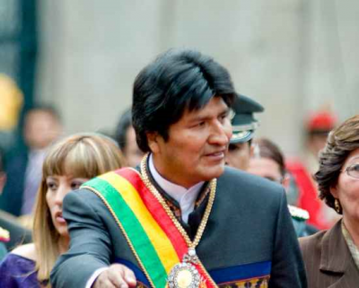 "Morales: ""Bolivia Ready for War with US"""