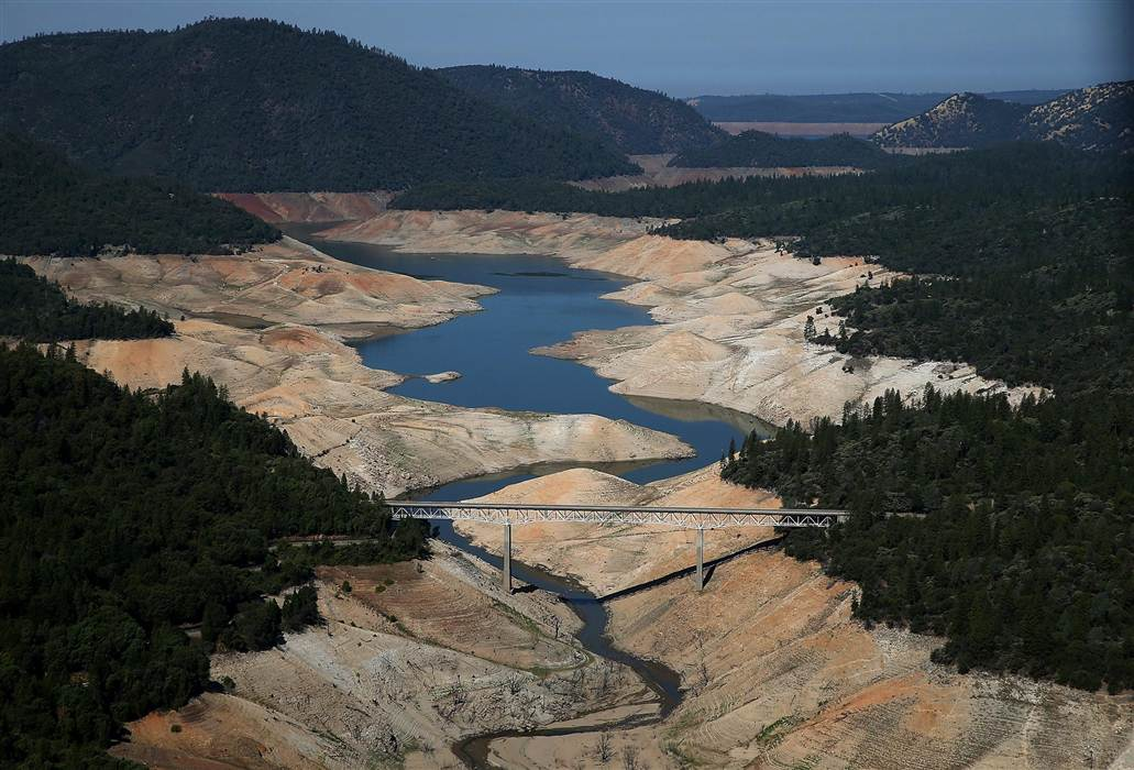 "LA Times: ""California has about one year of water left. Will you ration now?"""