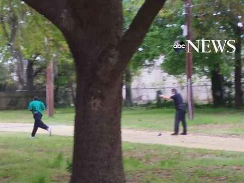 Video: Officer Charged With Murder for Shooting Unarmed Man in the Back