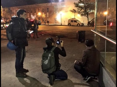 Watch: Baltimore Police Go After and Shoot Journalists
