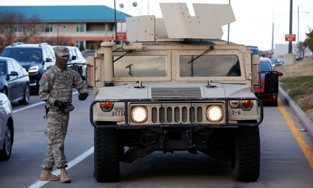 Troops referred to Ferguson protesters as 'enemy forces', emails show