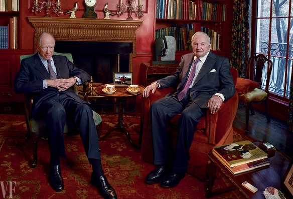 "The Rockefellers and Rothschilds ""fused"" while no one was looking"