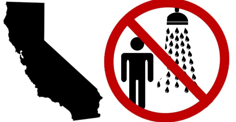 CA Residents Fined $500 a Day for Long Showers While Big Business Gets Special Treatment