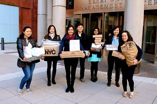 NYC non-profit rescues food from restaurants and gives it to the homeless