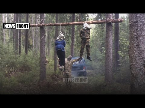 Video – Ukrainian Militants Allegedly Hang a Militia Man and his Pregnant Wife