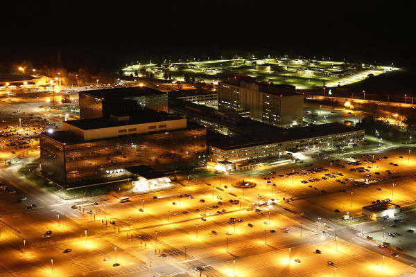 NSA Headquarters. Photo credit: Trevor Paglen.
