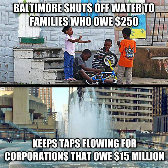 City shuts off water to delinquent residents; hits Baltimore Co. homes hardest