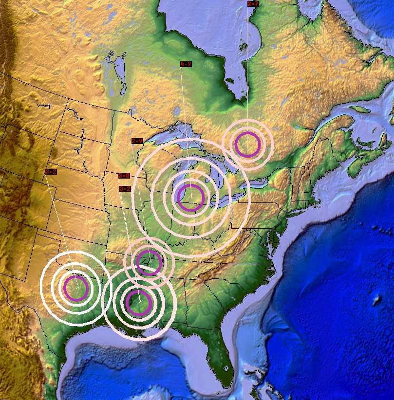 Michigan, Texas, Mississippi, California, Idaho And Washington All Jolted By Significant Earthquakes