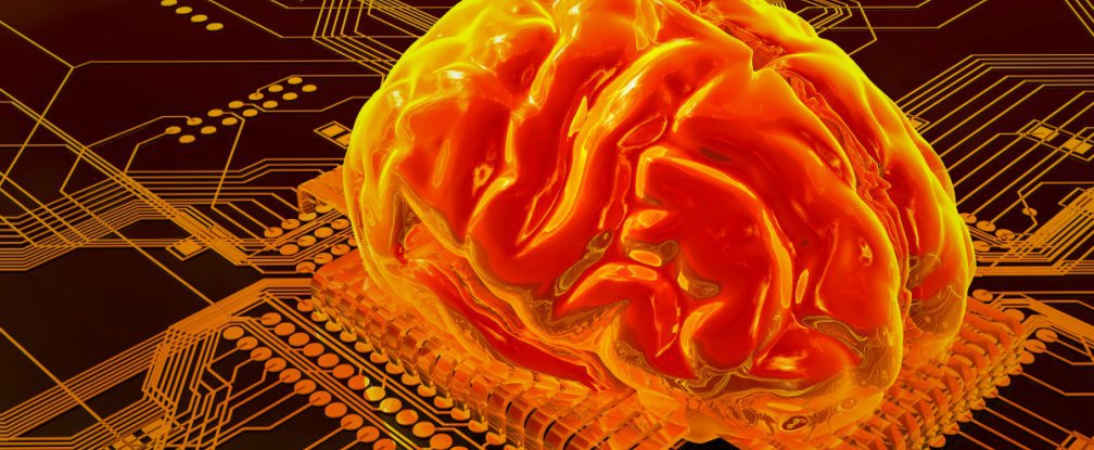 An electronic memory cell has been created that mimics the human brain