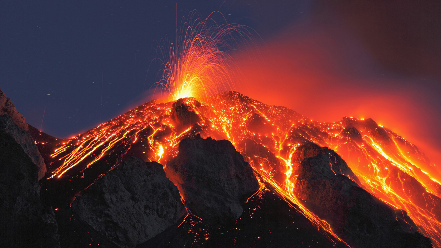 40 Volcanoes Are Erupting Right Now, And 34 Of Them Are Along The Ring Of Fire