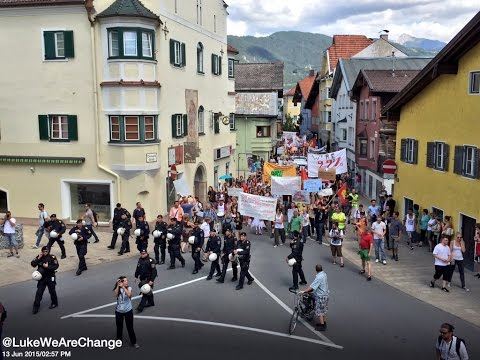 Hundreds Protest And Fighter Jets Scrambled At Bilderberg