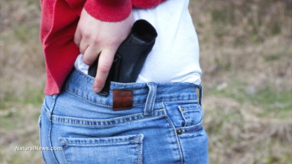 Woman-Concealed-Handgun
