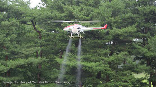 Monsanto's airborne pesticide drones coming soon: FAA approves unmanned poison-spraying helicopters.