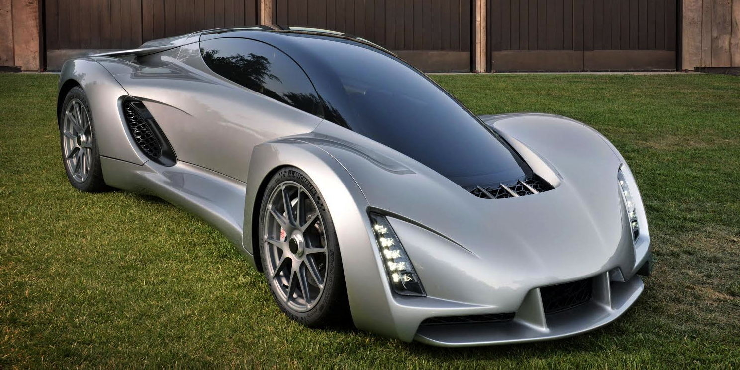 World's First 3D Printed Supercar is Unveiled