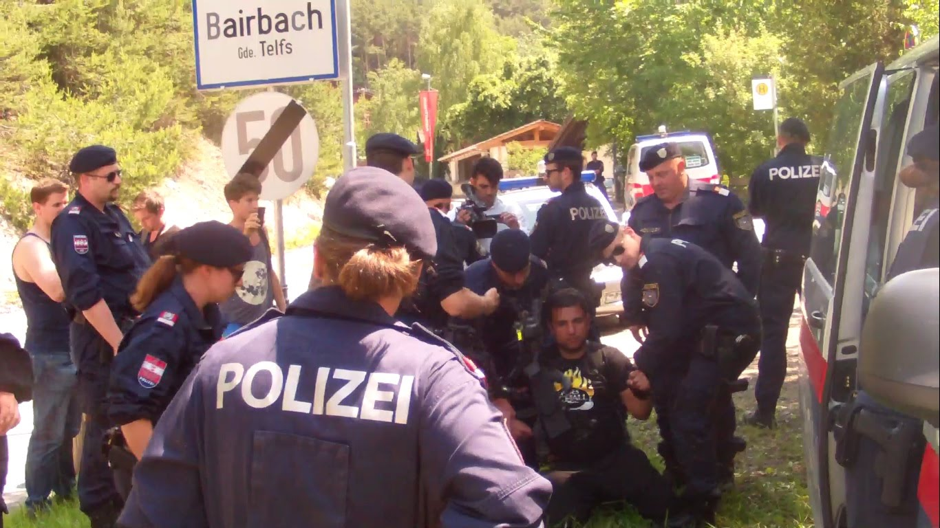 Police Arrest Man At Bilderberg 2015