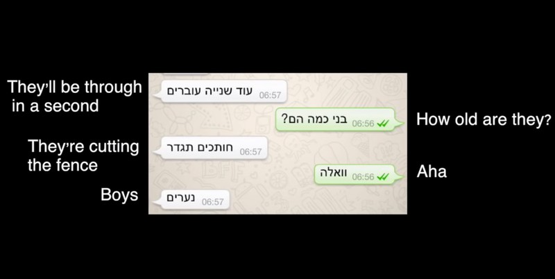 WhatsApp messages show Israeli soldiers knew they were about to kill a child
