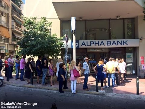 Tear Gas, Long ATM Lines and How Greeks Will Vote Sunday