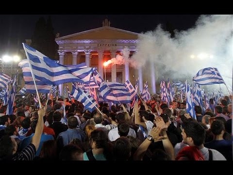 Greece Votes Media Manipulates #OXI