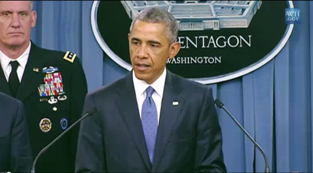 "President Obama: ""We're training ISIL"""