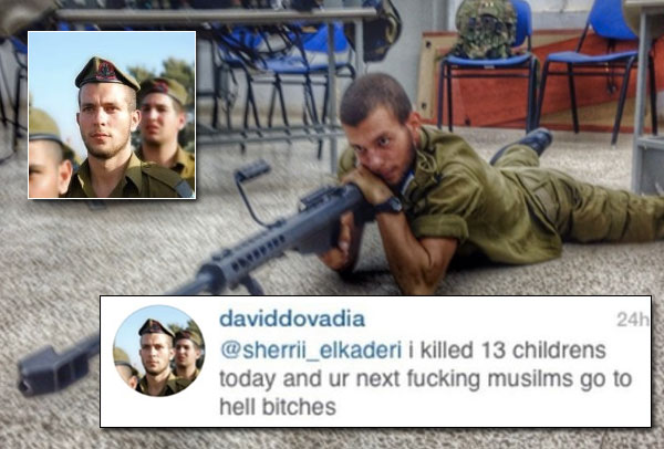 Jail time for israeli sniper who bragged about shooting children