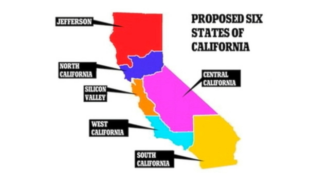 'Six Californias' plan may make 2016 ballot
