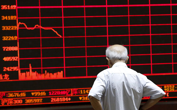 The really worrying financial crisis is happening in China, not Greece