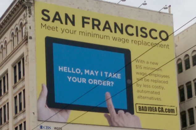 We Are Seeing The Effects Of The Minimum Wage Rise In San Francisco