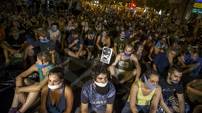 Spain's New Law Forbidding Filming Police And 'Unauthorised' Protest In Action Since July 1st