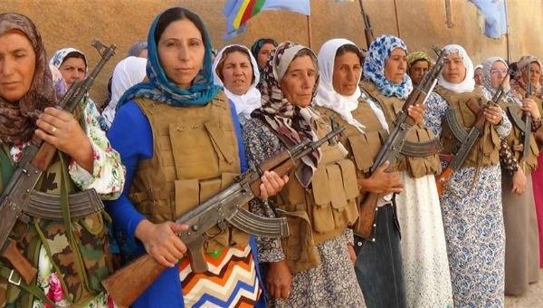 Kurdish Women's Radical Self-Defense: Armed and Political