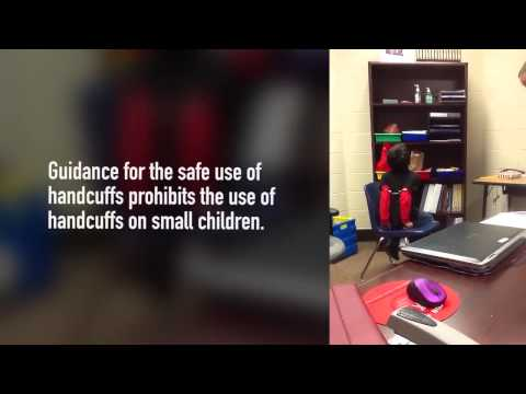 Deputy handcuffs two third graders with disabilities.