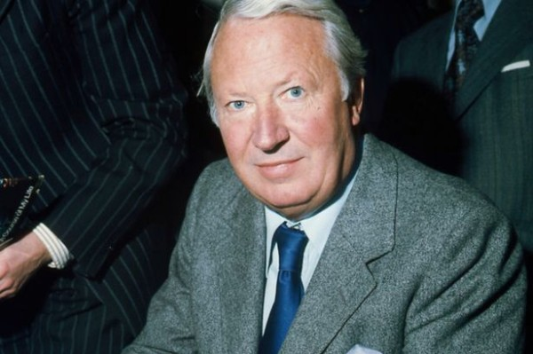 The man in question: Ted Heath